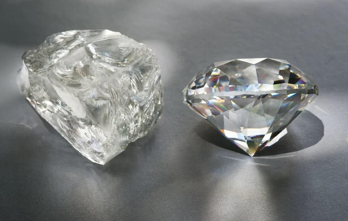 Необработанный бриллиант